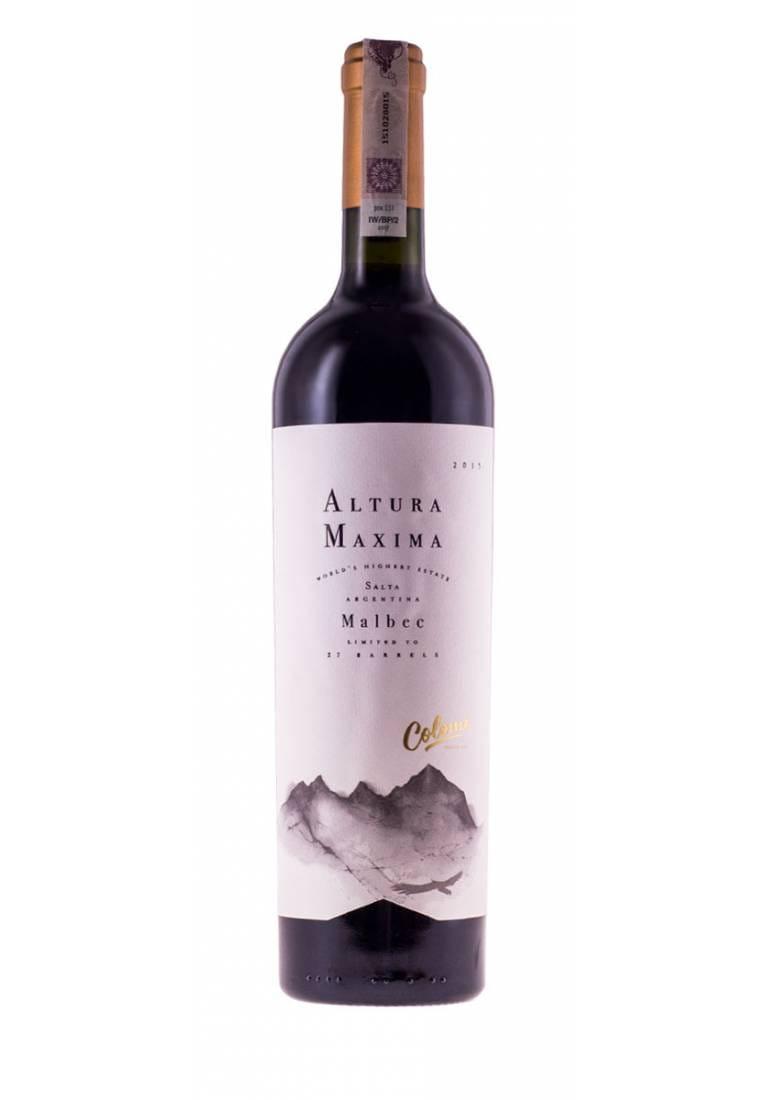 Malbec, Altura Maxima, 2015, Salta, Colome Estate
