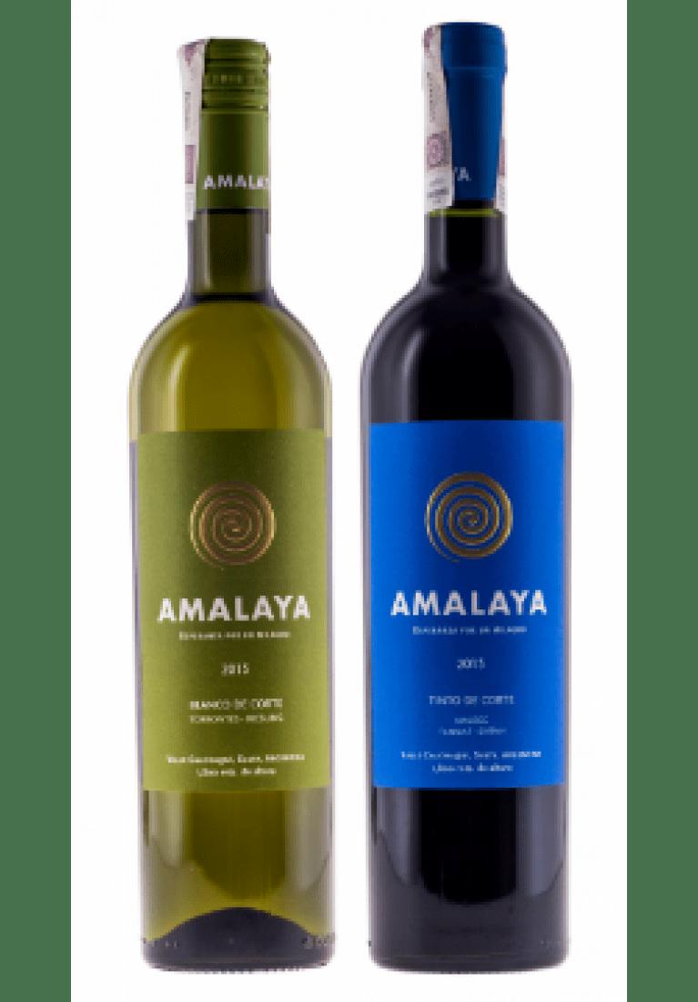 Zestaw mieszany 3 Amalaya Bianco & 3 Amalaya Tinto, Argentyna + DARMOWA DOSTAWA