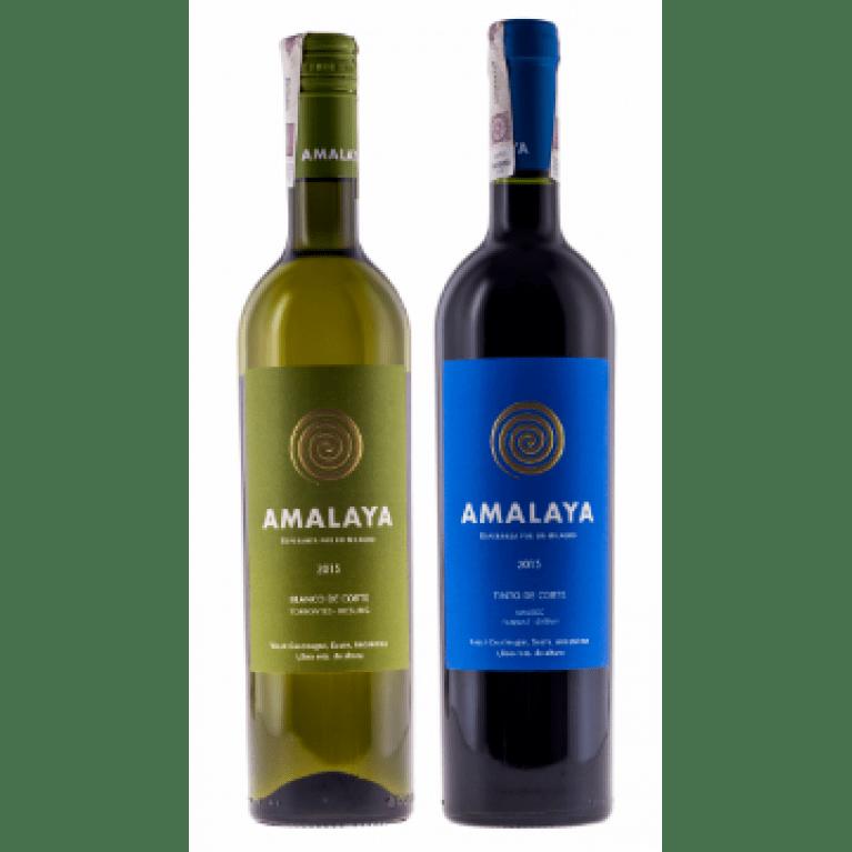 Zestaw mieszany 6 Amalaya Bianco & 6 Amalaya Tinto, Argentyna + DARMOWA DOSTAWA