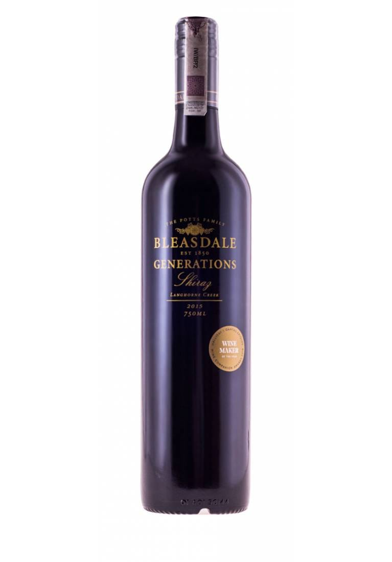 Generations, Shiraz, 2015, Langhorne Creek, Bleasdale - wine-express.pl