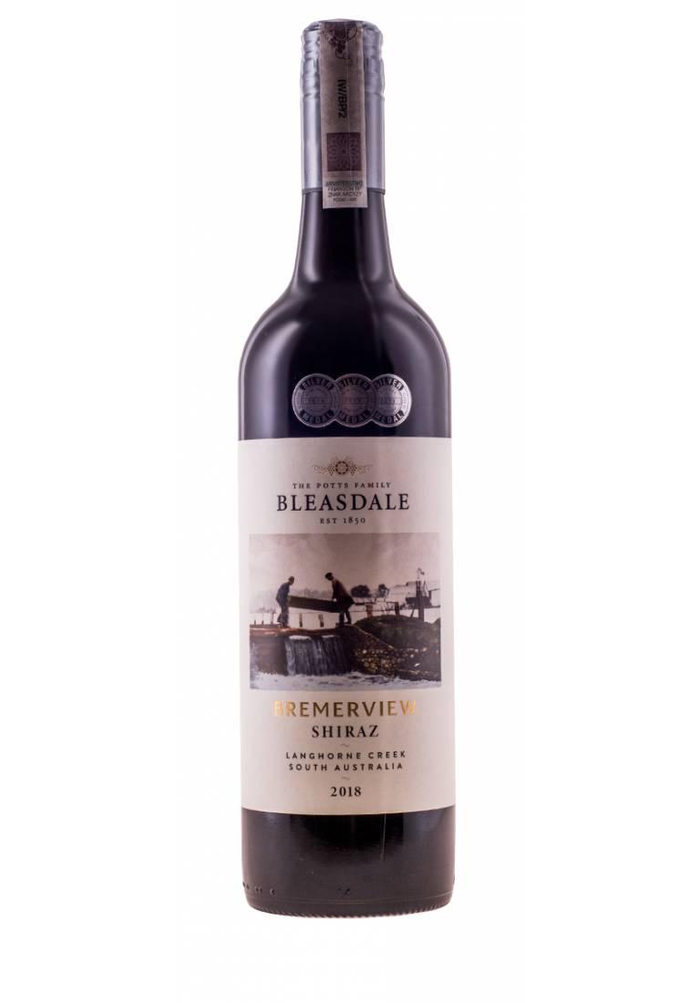 Shiraz, Bremerview, 2018, Langhorne Creek, Bleasdale - wine-express.pl