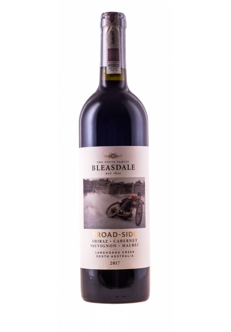 Broad-Side, Shiraz/Cabernet/Malbec, 2017, Langhorne Creek, Bleasdale