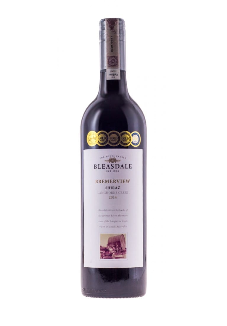Shiraz, Bremerview, 2016, Langhorne Creek, Bleasdale - wine-express.pl