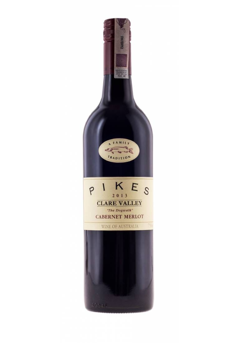 The Dogwalk, Cabernet Merlot, 2015, Clare Valley, Pikes - wine-express.pl