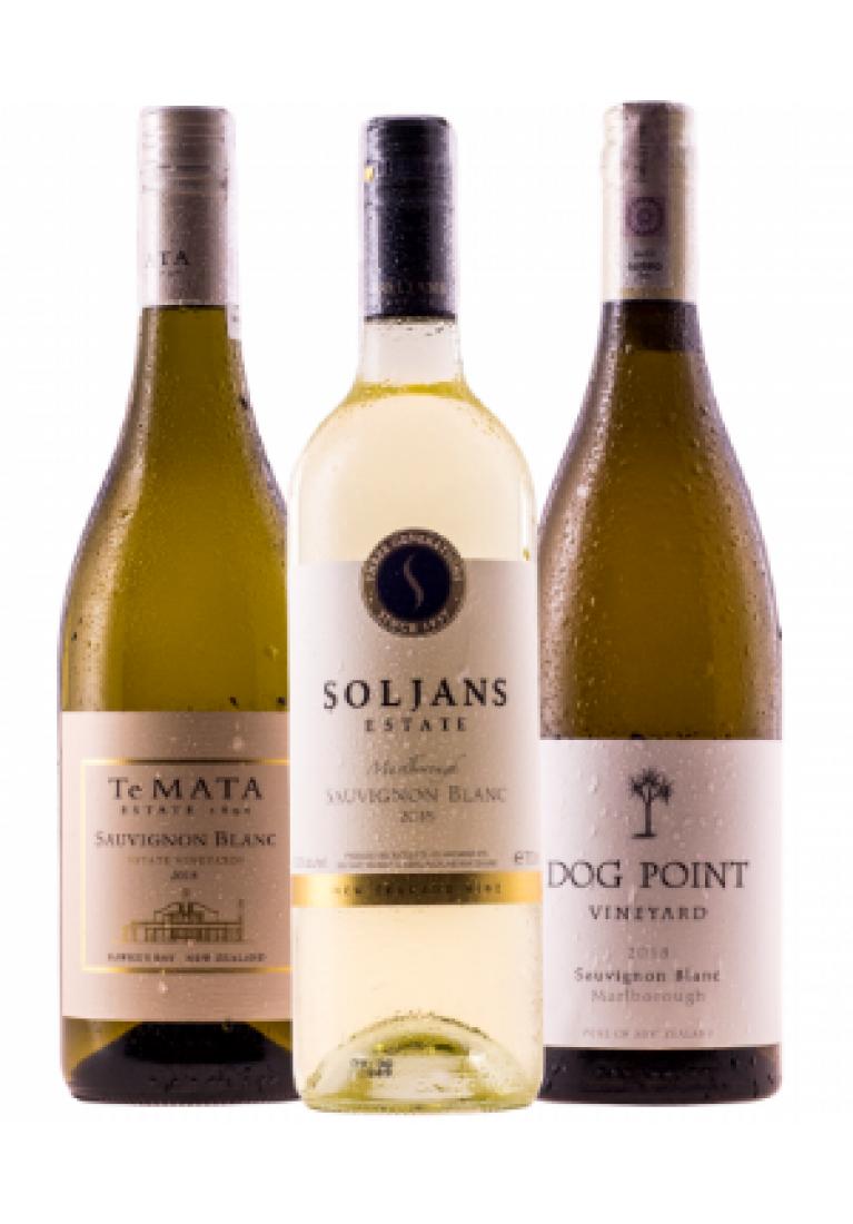 Mieszany zestaw 12 najlepszych Sauvignon Blanc z Nowej Zelandii + DARMOWA DOSTAWA