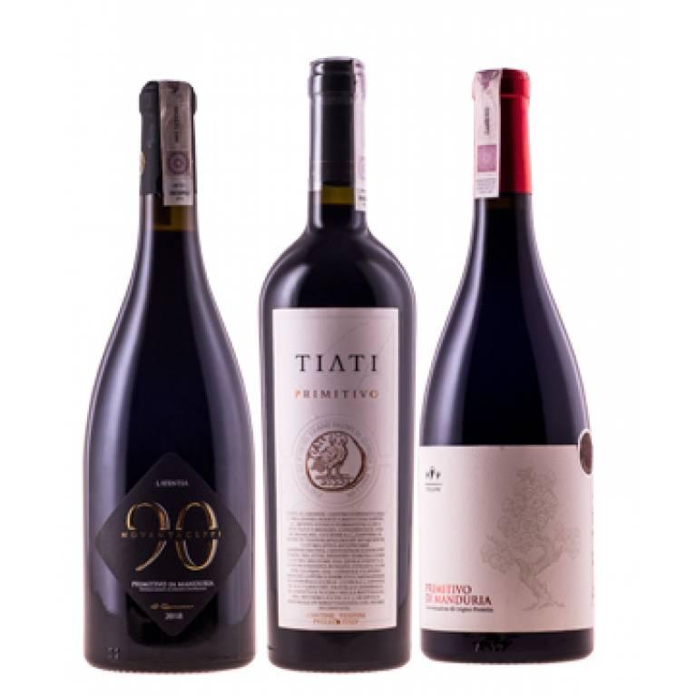 Zestaw mieszany Primitivo (6 butelek) + DARMOWA DOSTAWA