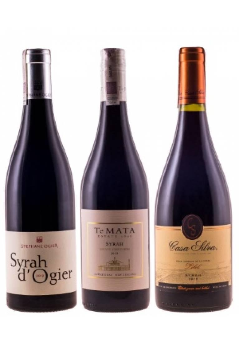Doskonały wybór Syrah (12 butelek) + DARMOWA DOSTAWA