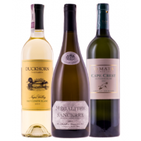 Mixed case of 3 best barrel fermented Sauvignon Blanc + FREE DELIVERY