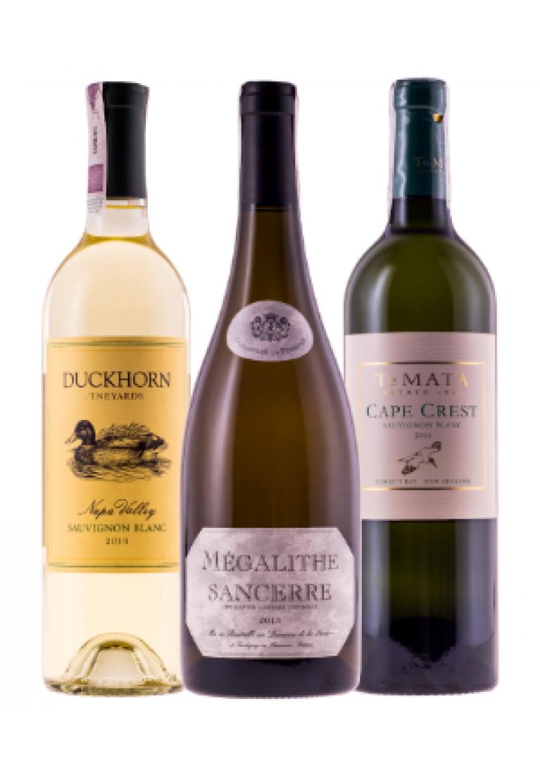 Beczkowe Sauvignon Blanc - zestaw 6 butelek + DARMOWA DOSTAWA