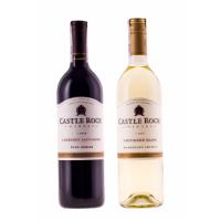 Zestaw mieszany 3 Cabernet Sauvignon & 3 Sauvignon Blanc, Castle Rock Winery, USA + DARMOWA DOSTAWA