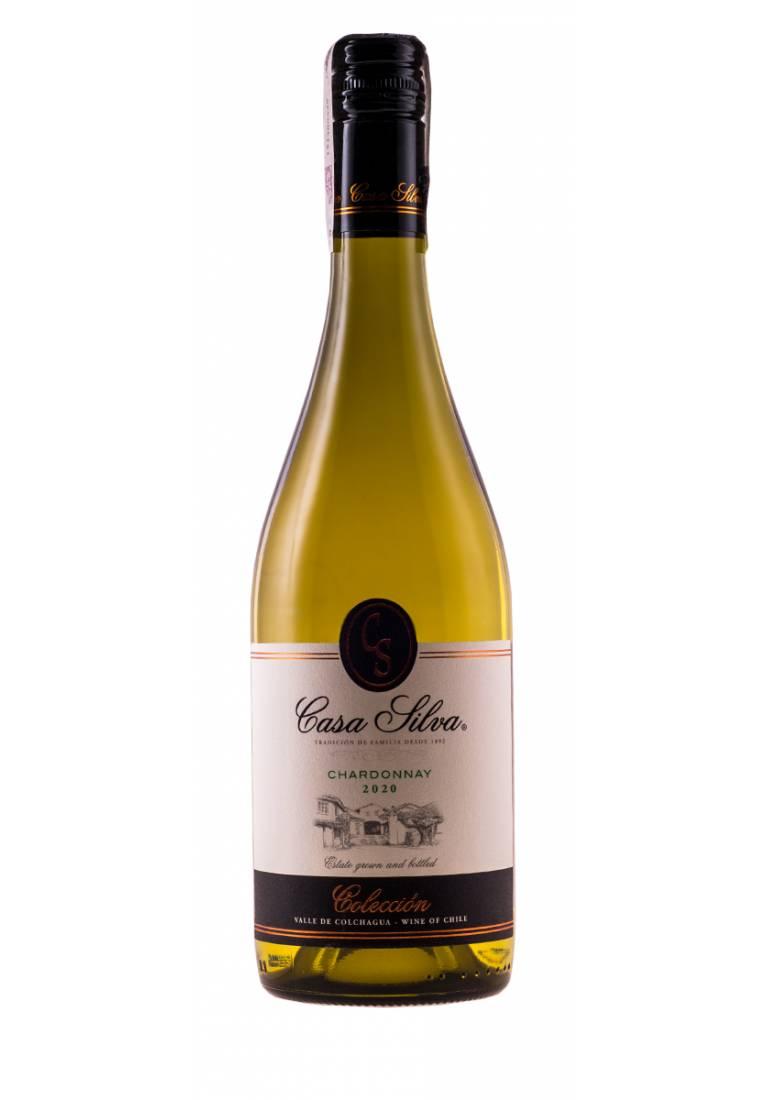 Chardonnay, Coleccion, 2020, Colchagua Valley, Casa Silva