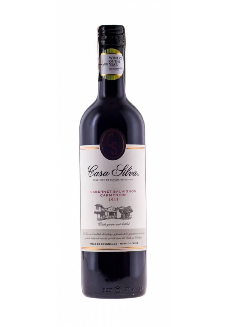 Cabernet Sauvignon/Carmenere, Silva Family Wines, 2018, Casa Silva - wine-express.pl