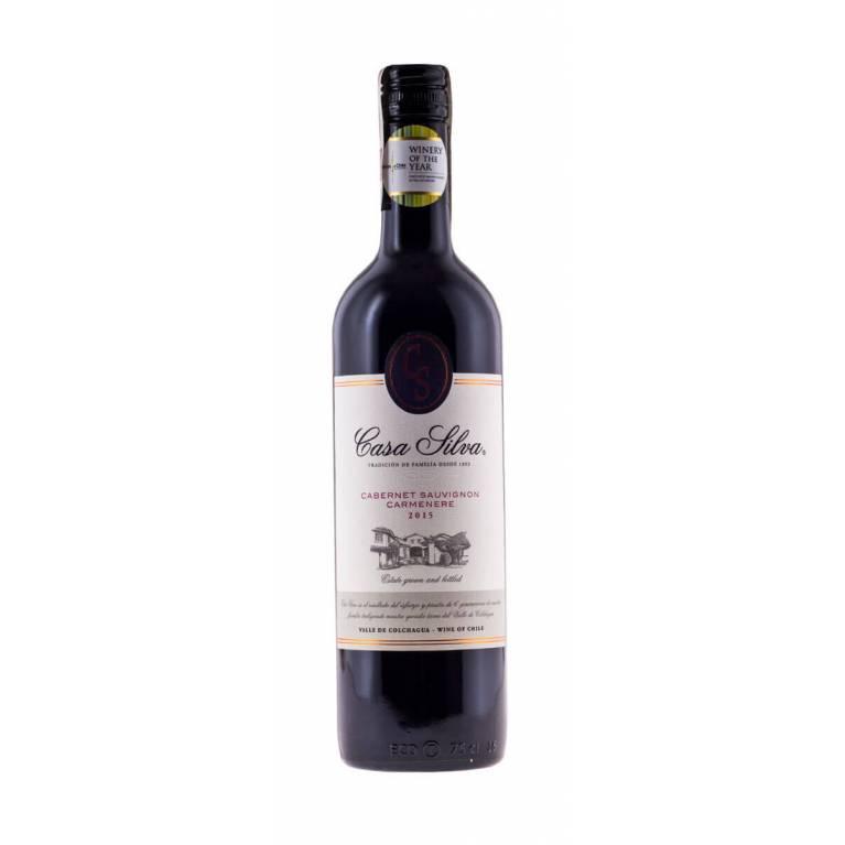 Cabernet Sauvignon/Carmenere, Silva Family Wines, 2017/2018, Casa Silva