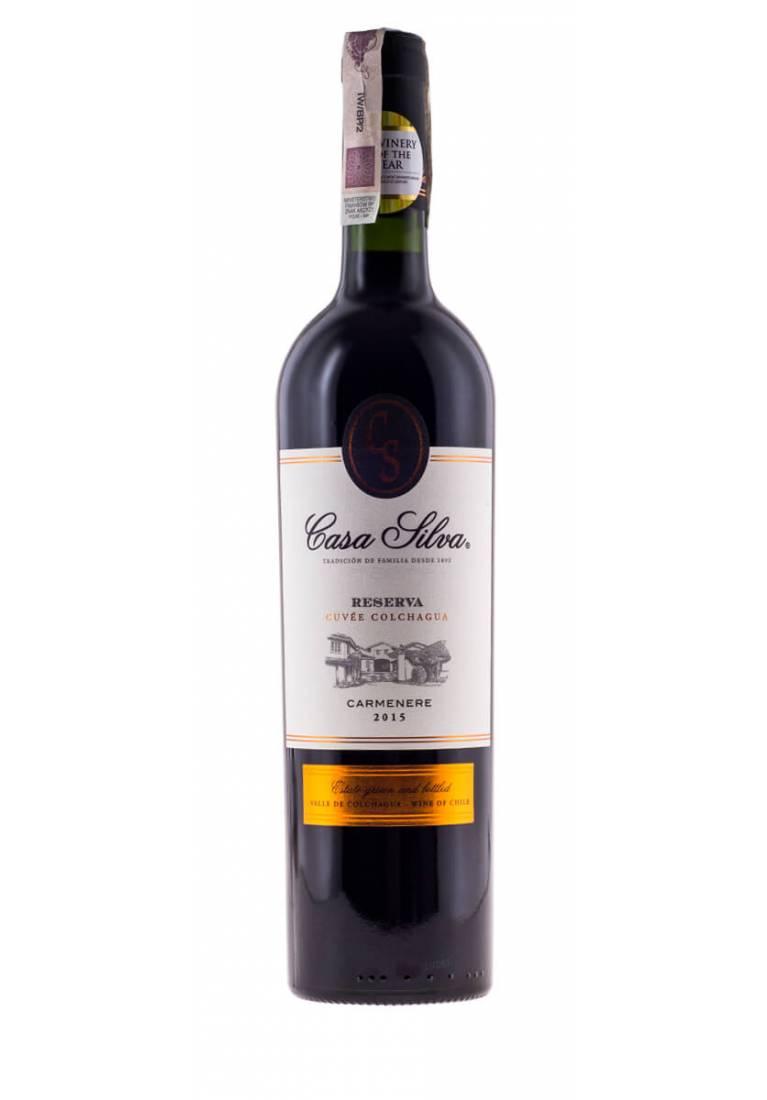 Carmenere, Reserva, 2016, Casa Silva - wine-express.pl