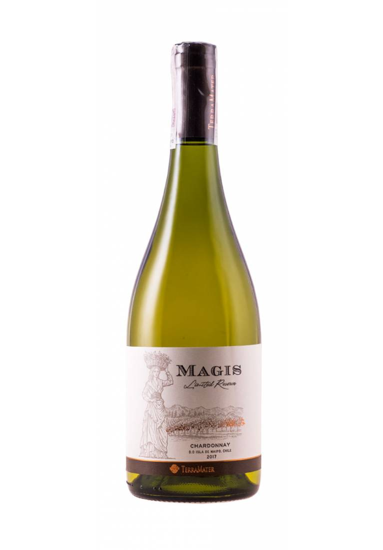 Magis, Chardonnay, Limited Reserve, 2017, TerraMater Estate