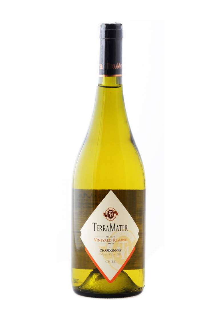 Chardonnay, Vineyard Reserve, 2017, TerraMater Estate - wine-express.pl