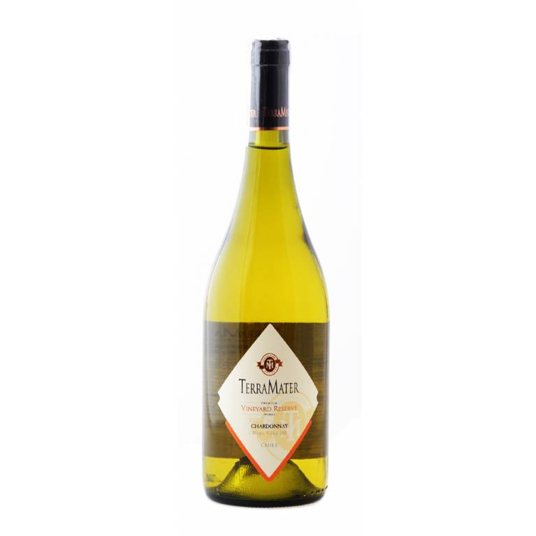 Chardonnay, Vineyard Reserve, 2017, TerraMater Estate