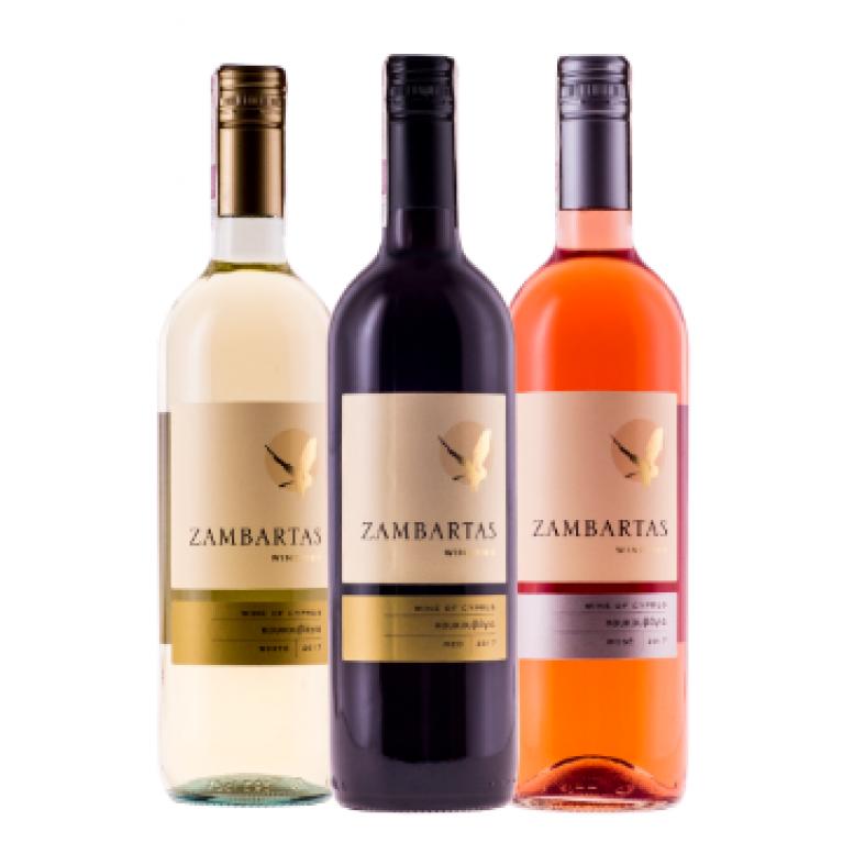 Mieszany zestaw win cypryjskich – 12 butelek + DARMOWA DOSTAWA
