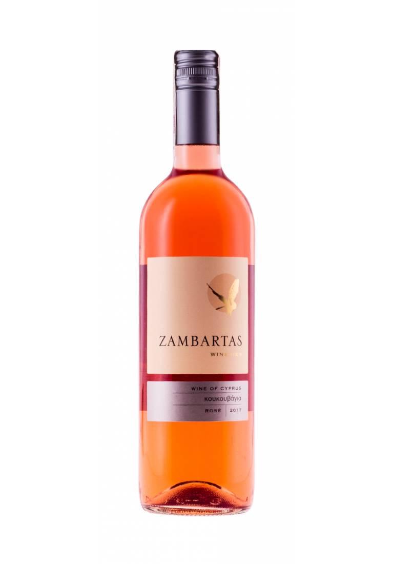 Koukouvagia rose, 2017, Krasochoria, Zambartas Wineries