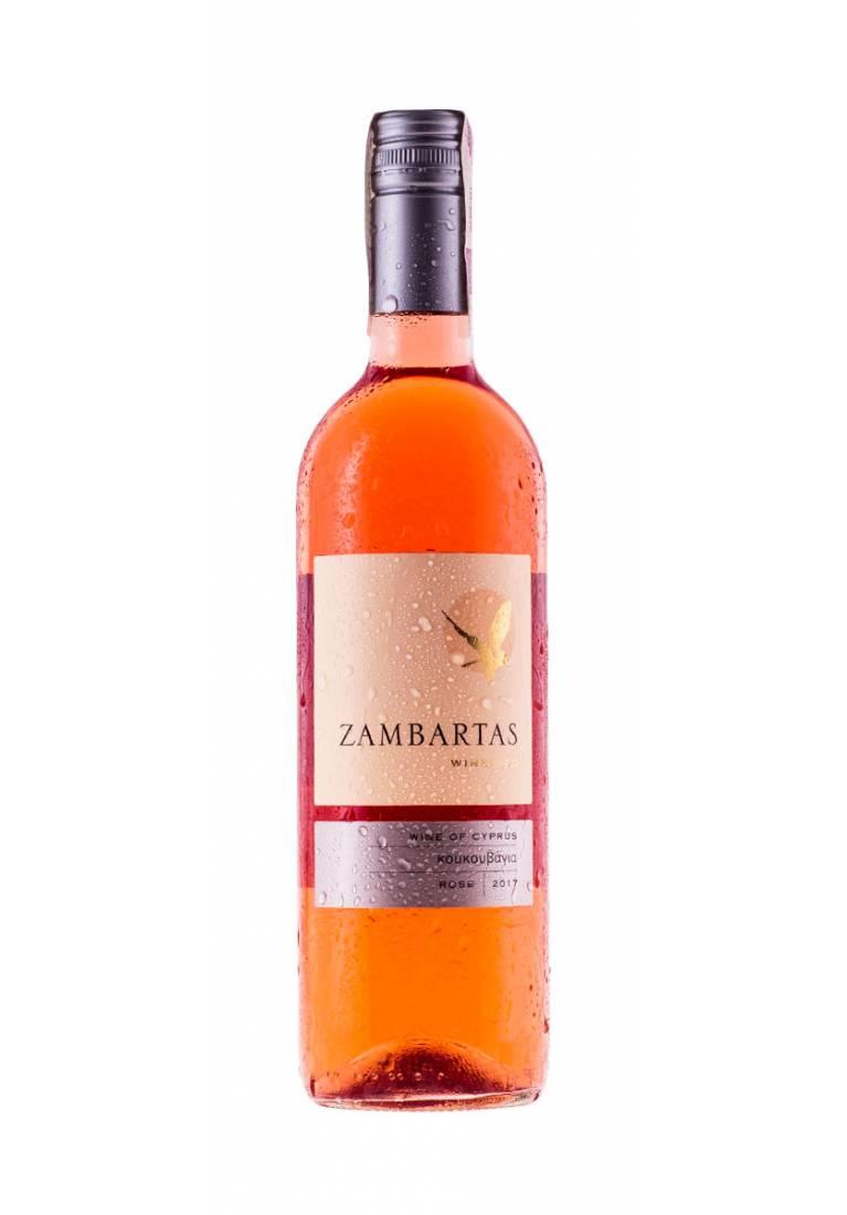 Zestaw 6 butelek Koukouvagia rose, 2017, Zambartas Wineries, Cypr + DARMOWA DOSTAWA