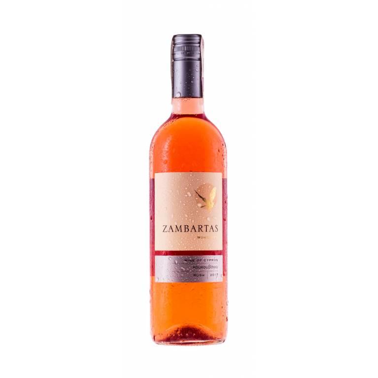 Zestaw 12 butelek Koukouvagia, rose, 2017, Zambartas Wineries, Cypr + DARMOWA DOSTAWA