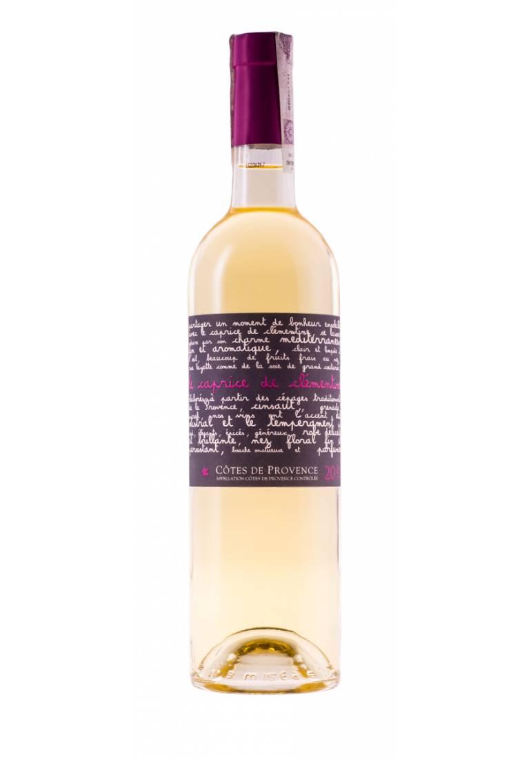 Caprice de Clementine, Charme Blanc, 2016, Provence, Chateau Les Valentines - wine-express.pl