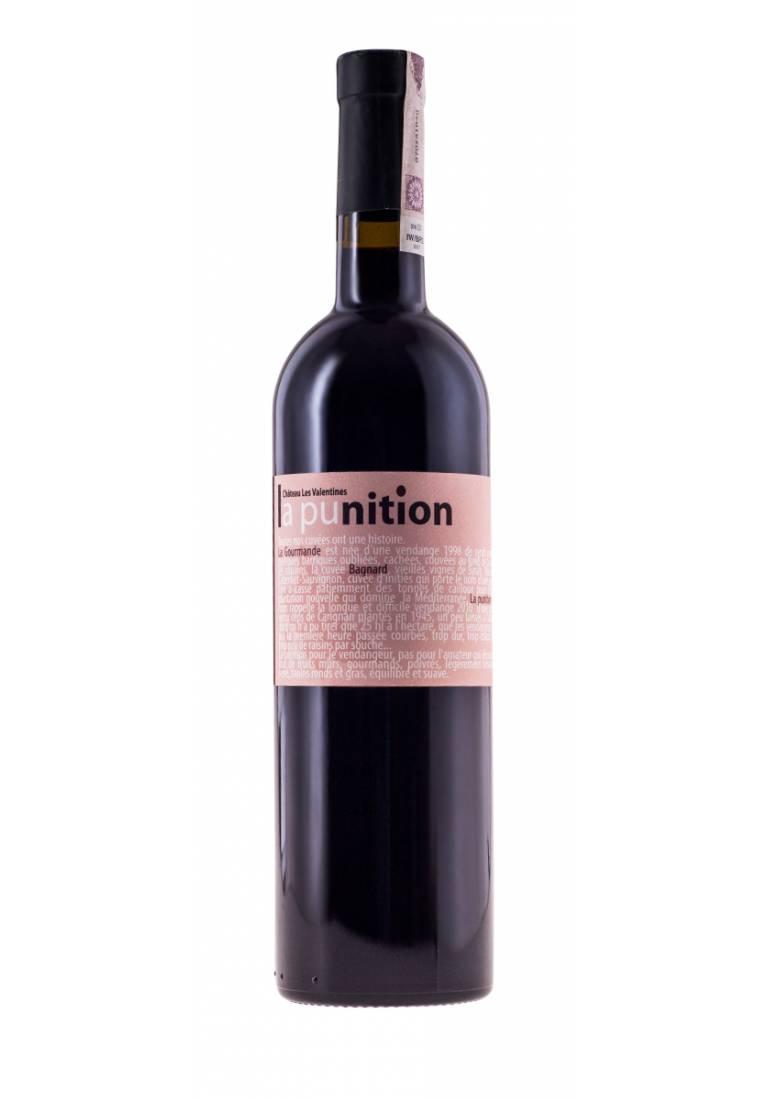 Punition Rouge, 2015, Provence, Chateau Les Valentines - wine-express.pl