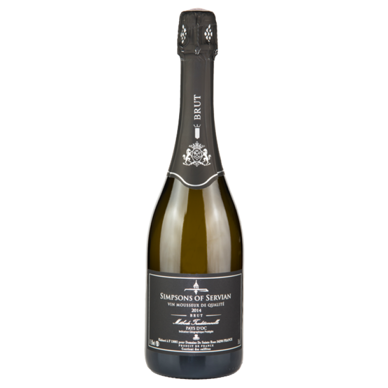 Blanc de Blancs, Brut, 2015,  Methode Traditionnelle, Domaine Sainte Rose