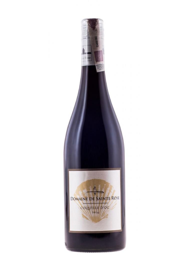Le Coquille d Oc Rouge, 2014, Domaine Sainte Rose - wine-express.pl