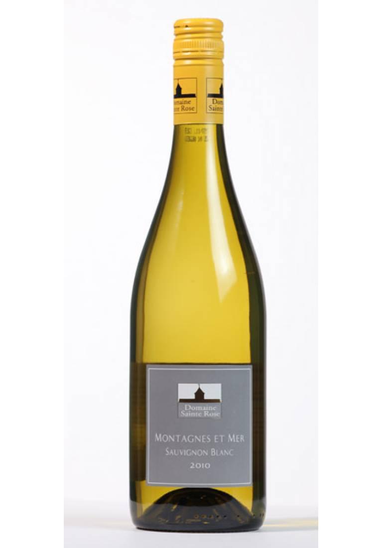 Sauvignon Blanc, Les Montagnes et Mer, 2013, Domaine Sainte Rose - wine-express.pl