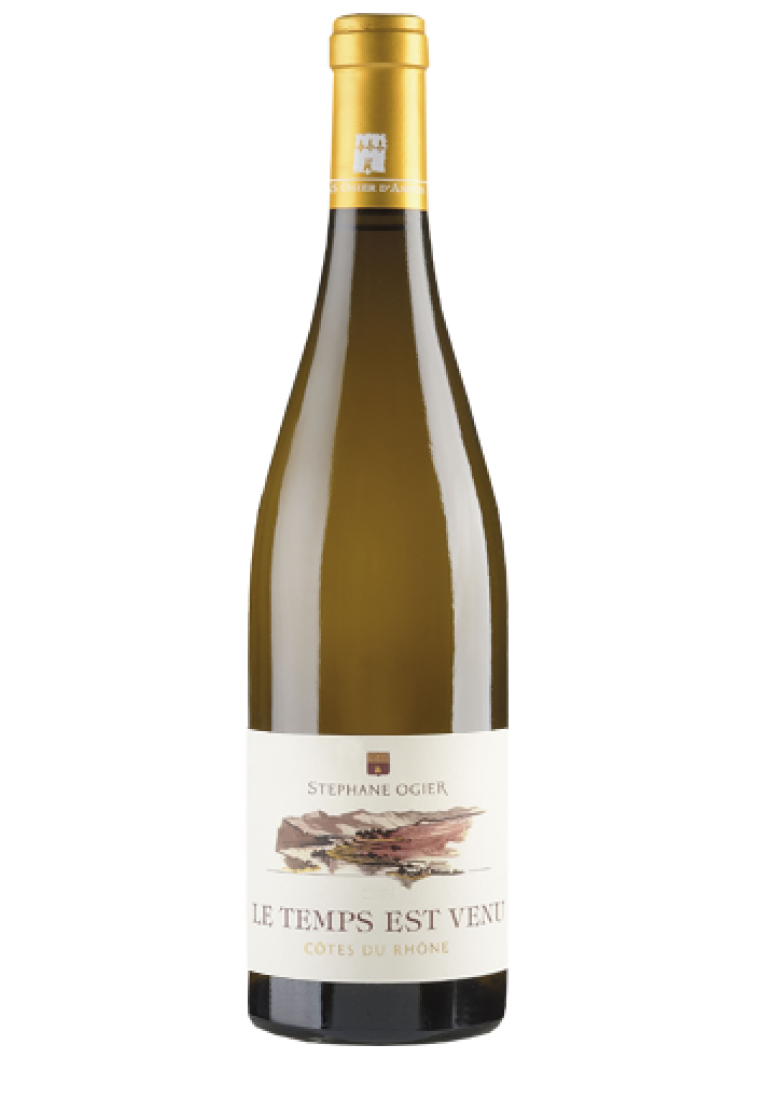 Le Temps est Venu Blanc, 2016, Cotes du Rhone, Stephane Ogier - wine-express.pl