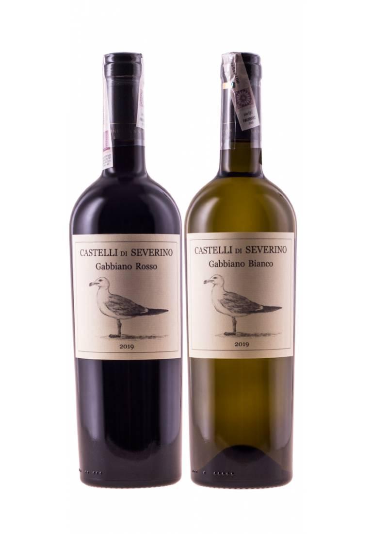 Zestaw Castelli di Severino (6 Bombino / 6 Montepulciano) + DARMOWA DOSTAWA - wine-express.pl