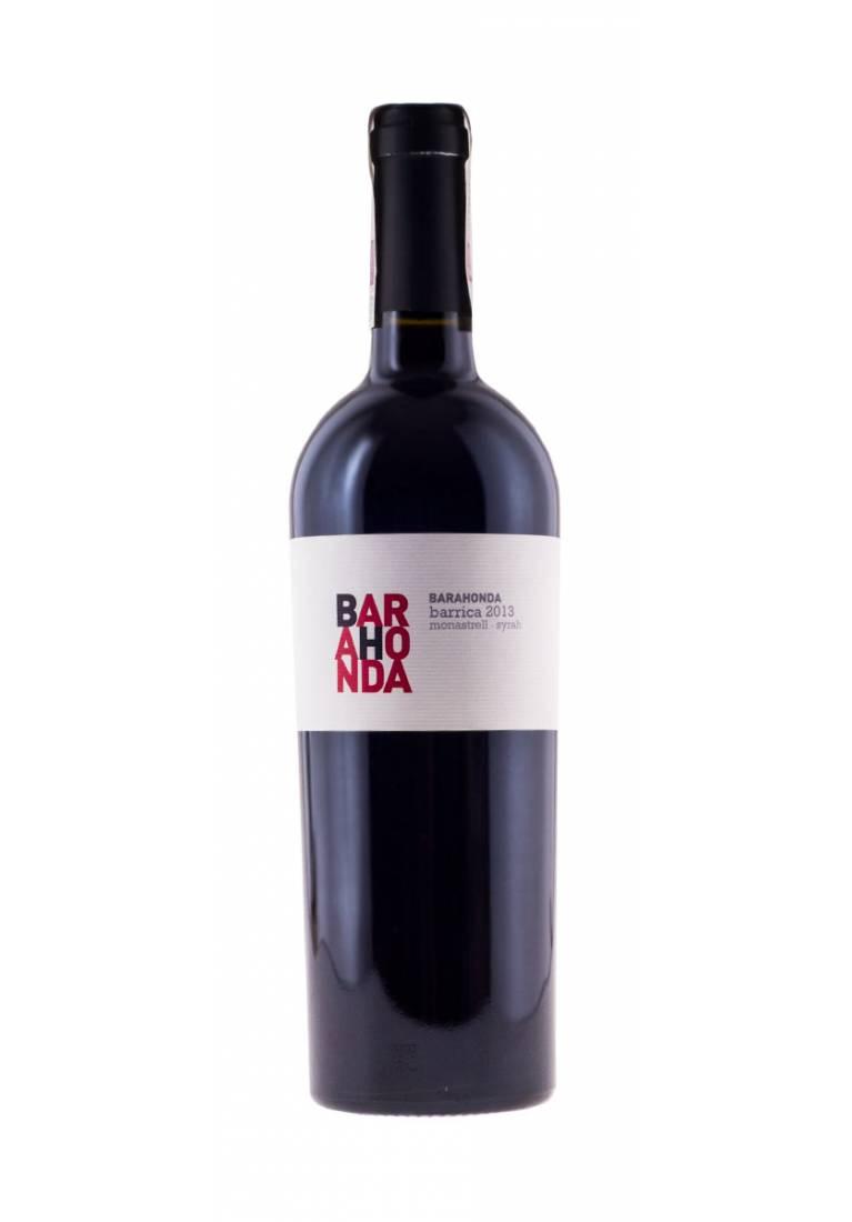 Monastrell/Syrah, Barrica, 2015, Yecla, Senorio de Barahonda - wine-express.pl