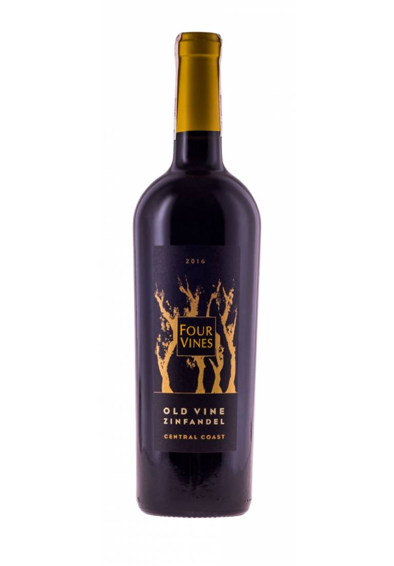 Old Vine Zinfandel, 2016, Central Coast, Four Vines