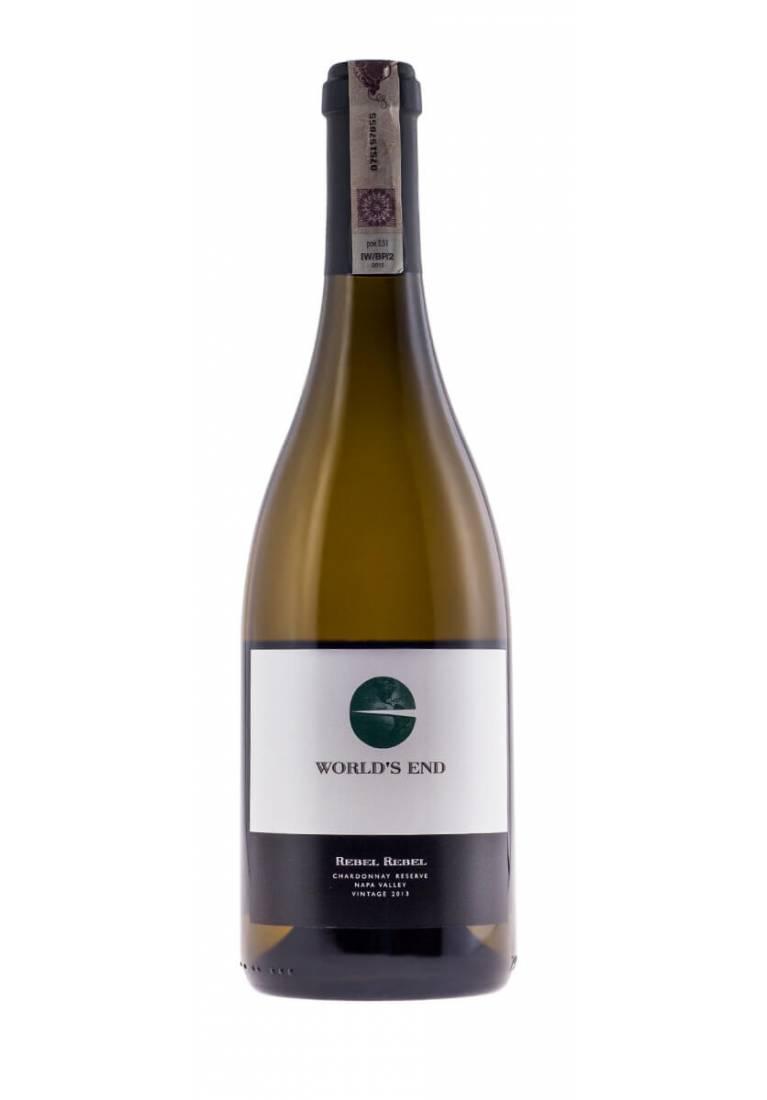 Rebel Rebel, Chardonnay Reserve, 2014/2015, Napa Valley, Worlds End - wine-express.pl