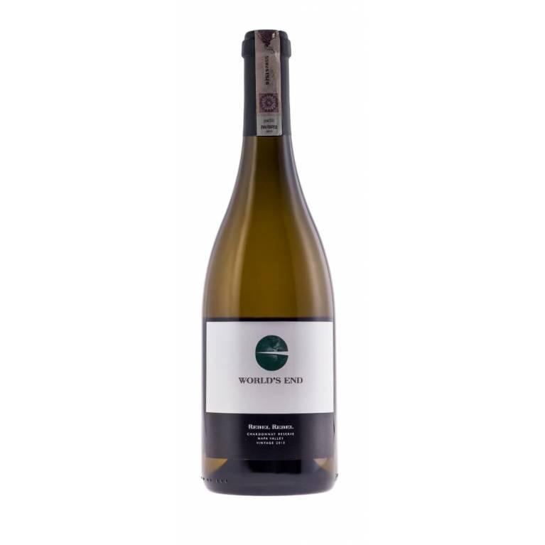 Rebel Rebel, Chardonnay Reserve, 2014/2015, Napa Valley, Worlds End