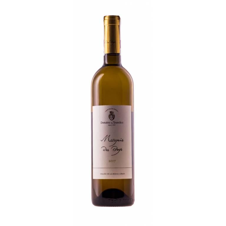 Specjalna oferta -20% Marquis des Beys, Chardonnay, 2017, Bekaa Valley, Domaine des Tourelles