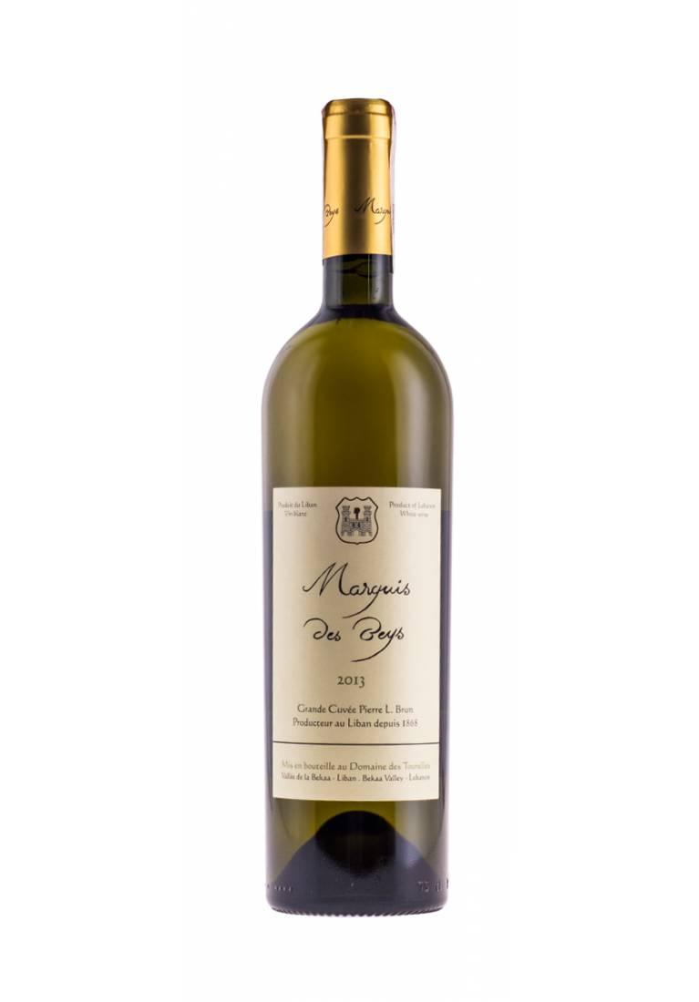 Chardonnay, Marquis des Beys, 2015, Bekaa Valley, Domaine des Tourelles