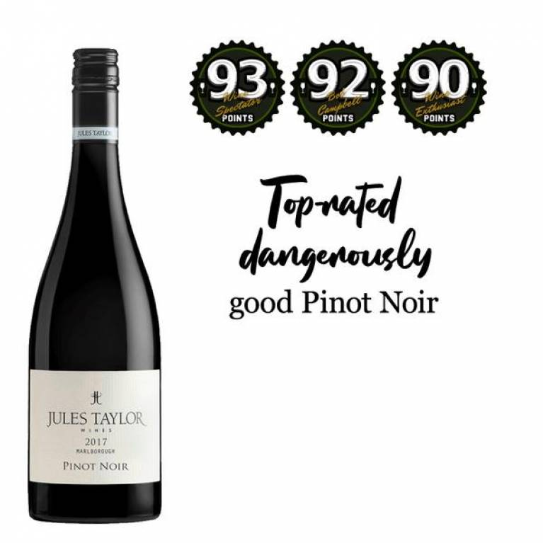 Pinot Noir, 2017, Marlborough, Jules Taylor