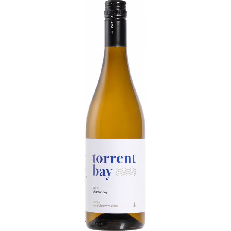 Chardonnay, 2019, Nelson, Torrent Bay