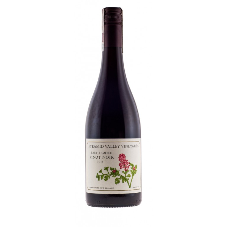 Earth Smoke, Pinot Noir, 2013, Home Collection, Canterbury, Pyramid Valley Vineyards