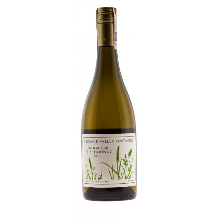 Field of Fire, Chardonnay, 2014, Home Collection, Canterbury, Pyramid Valley Vineyards