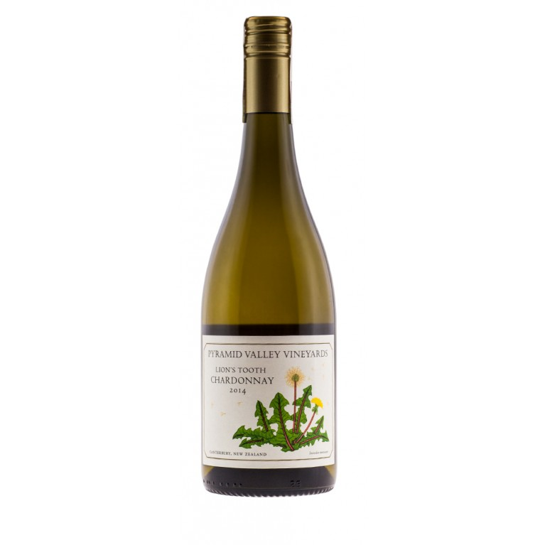 Lion's Tooth, Chardonnay, 2014, Home Collection, Canterbury, Pyramid Valley Vineyards