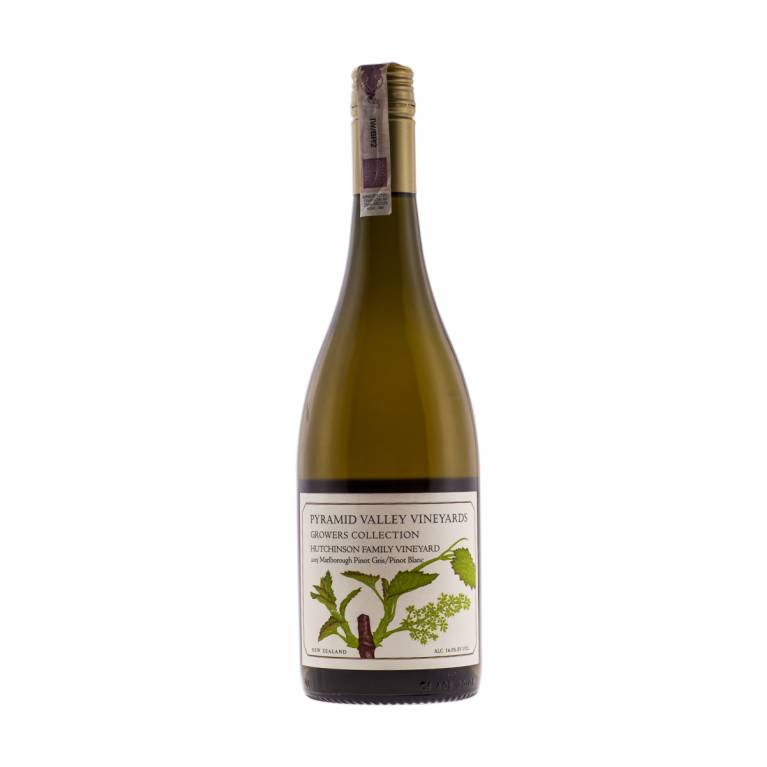 Pinot Gris/Pinot Blanc, Hutchinson Family Vineyards, 2015, Growers Collection, Marlborough, Pyramid Valley Vineyards