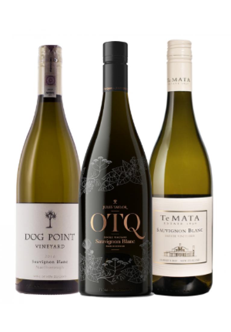 Zestaw 12 Sauvignon Blanc z Nowej Zelandii + DARMOWA DOSTAWA