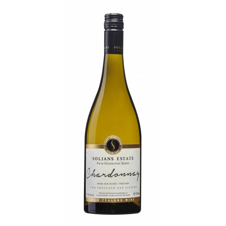 Chardonnay, 5th Generation Series, 2017, Kumeu, Soljans Estate