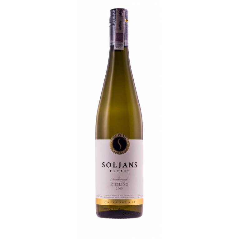 Riesling, 2016, Marlborough, Soljans Estate