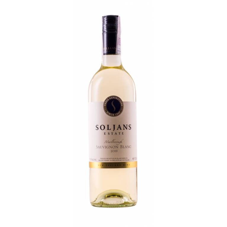 Sauvignon Blanc, 2019, Marlborough, Soljans Estate