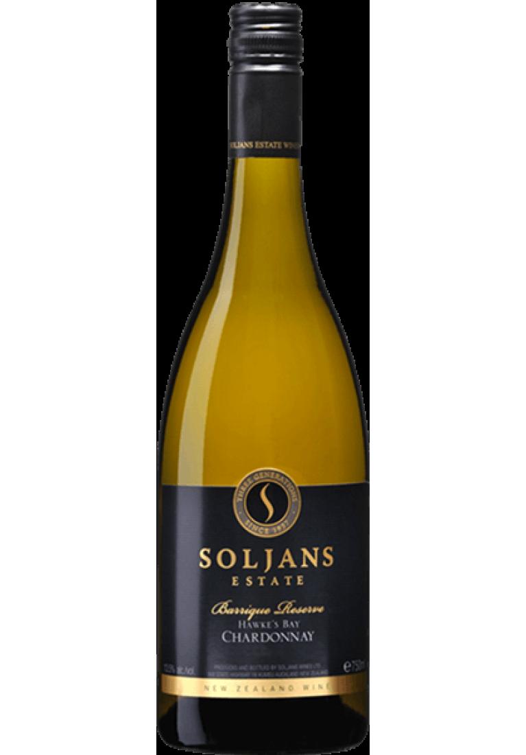 Chardonnay, Barrique Reserve, Hawkes Bay, 2018, Soljans Estate - wine-express.pl