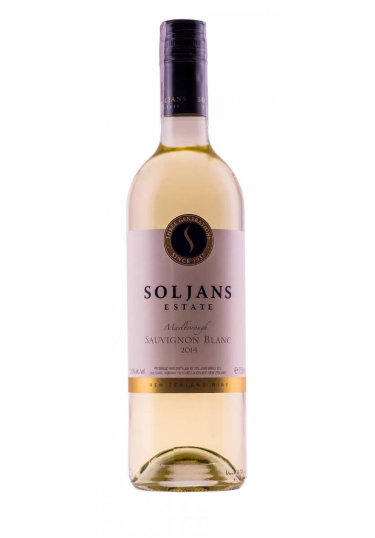Sauvignon Blanc, Marlborough, 2017, Soljans Estate - wine-express.pl
